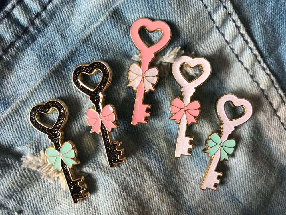 Image of Key Enamel Pin