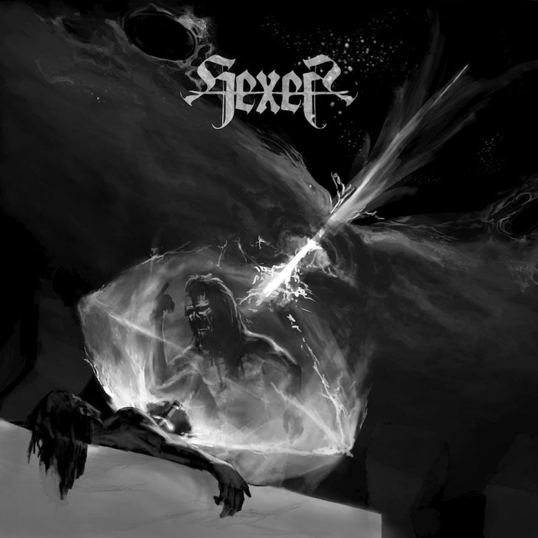 "Image of HEXER ""cosmic doom ritual"" CD"