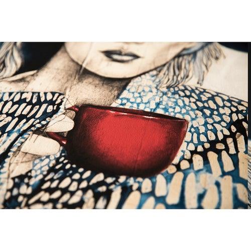 "Image of Canva Art Print - ""Tasse Rouge"""