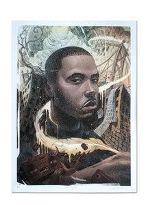 Image of Nas - Lithograph Print