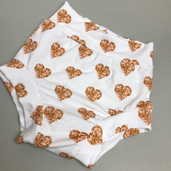 Image of Rose Gold Heart Bloomers