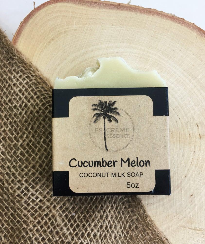 Image of Cucumber Melon Coconut Milk Soap