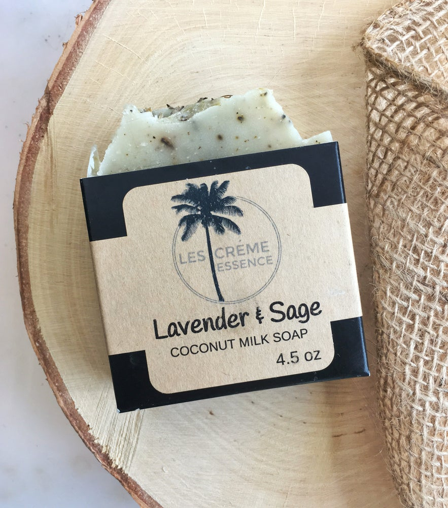 Image of Lavender + Sage  Coconut Milk Soap