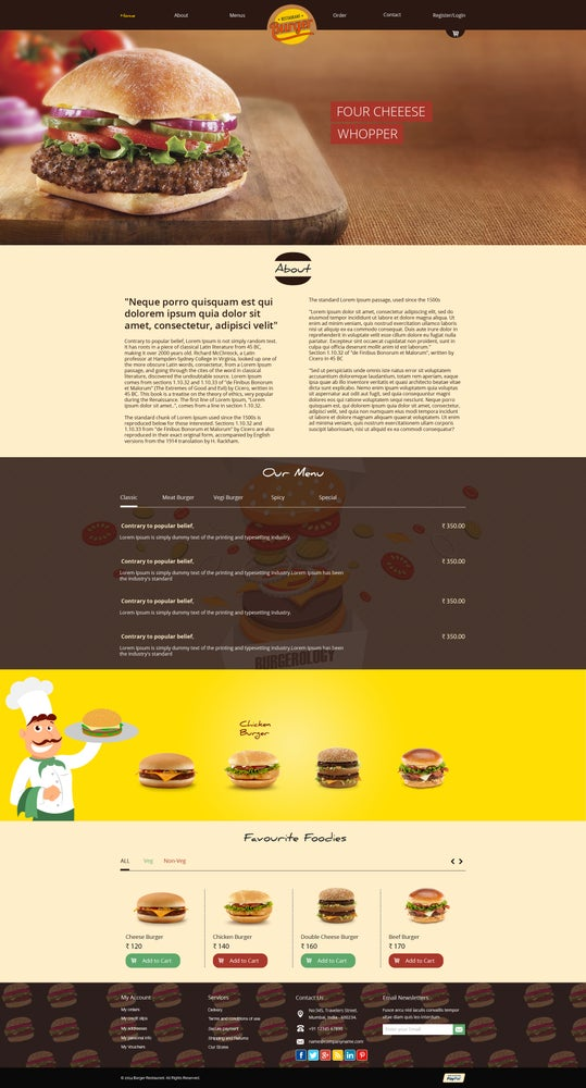 Image of E Commerce Websites Html Templates Free Download