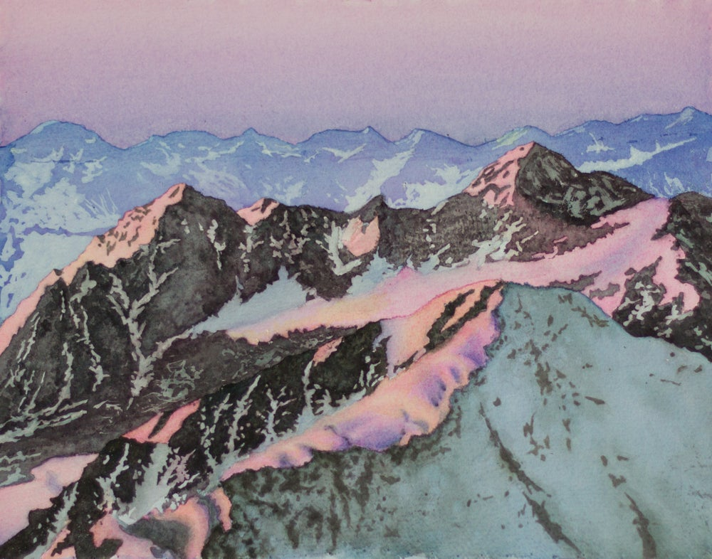 Image of Alpenglow