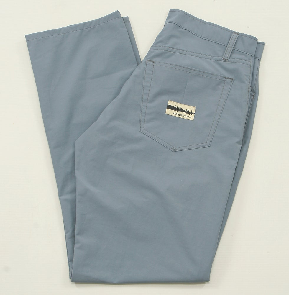 Image of MADE IN USA DOMEstics. BLUE WINBREAKER Pants