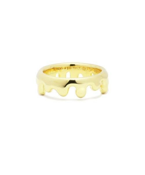 Image of Jam HomeMade x Disney (Winnie The Pooh) Ring (Gold Color)