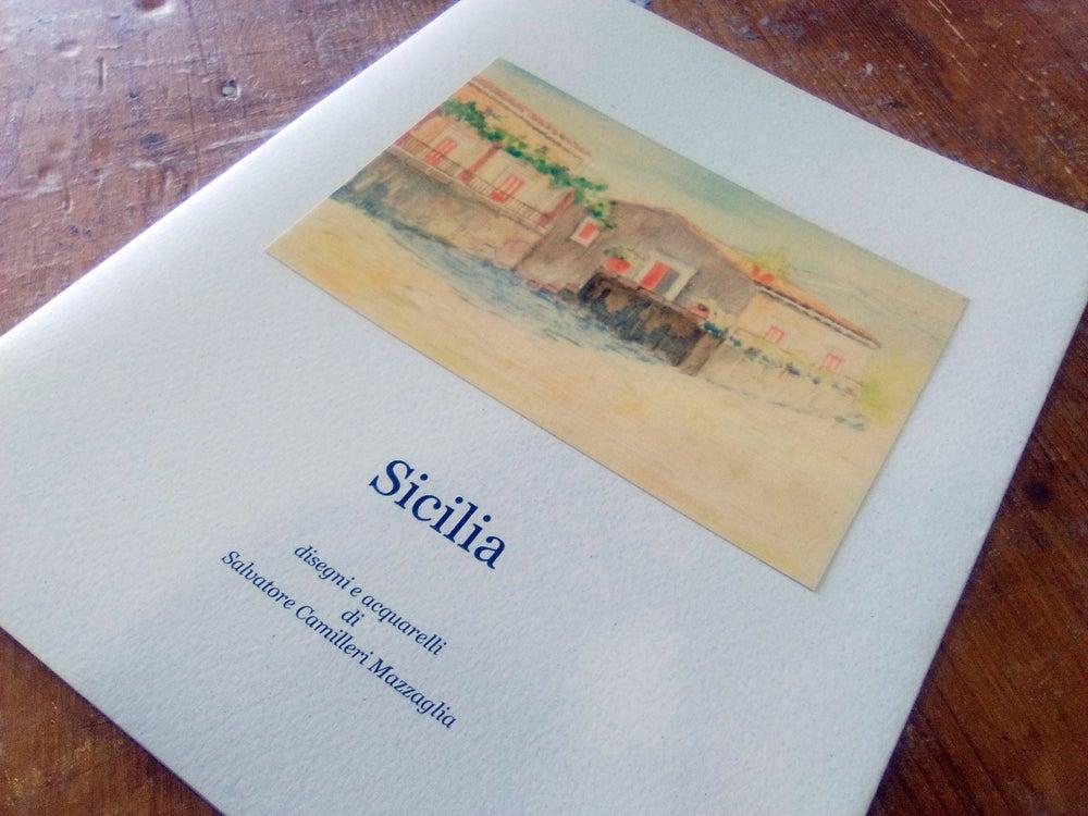 """Image of """"Sicilia. Disegni e acquarelli di Salvatore Camilleri Mazzaglia"""""""