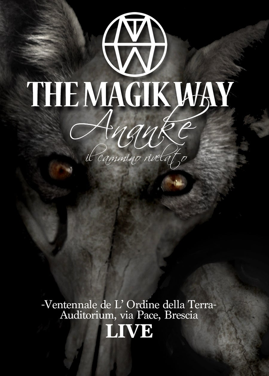"Image of THE MAGIK WAY ""Ananke"" DVD"