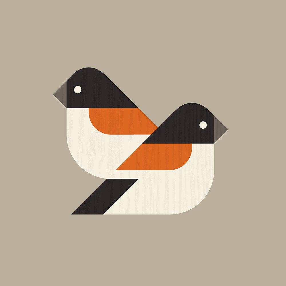 Image of Brambling Artprint (European Finches Series)