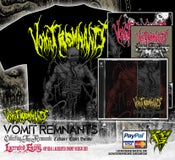 Image of VOMIT REMNANTS - Cadaver CD / Digipack Bundle