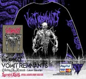 Image of VOMIT REMNANTS - Cadaver Sweatshirt