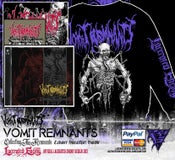 Image of VOMIT REMNANTS - Cadaver Sweatshirt Bundle