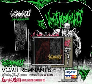 Image of VOMIT REMNANTS - Collecting Longsleeve Bundle