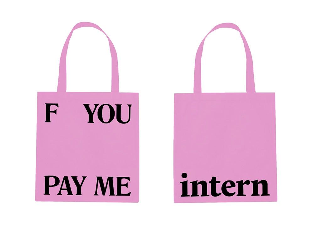 Image of F You Pay Me Tote SS17