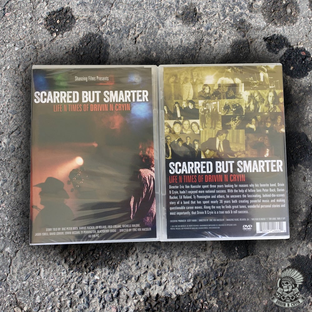 """Image of """"Scarred But Smarter: The Life and Times of Drivin N Cryin"""" DVD"""