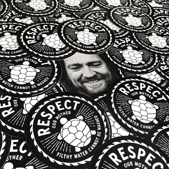 Image of Respect Our Mother Sticker Pack