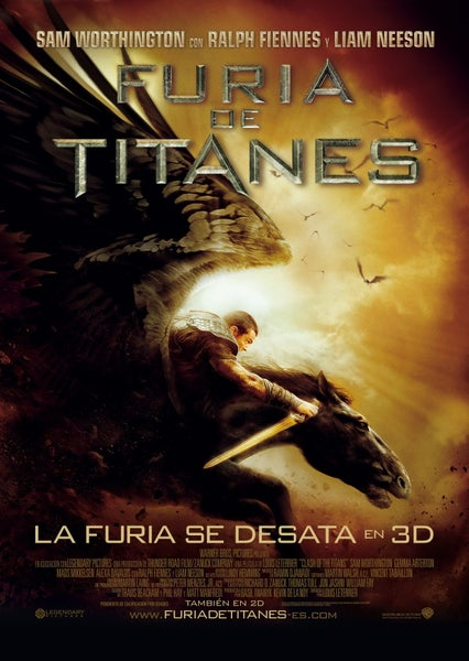Image of Wrath Of The Titans Download Dvd