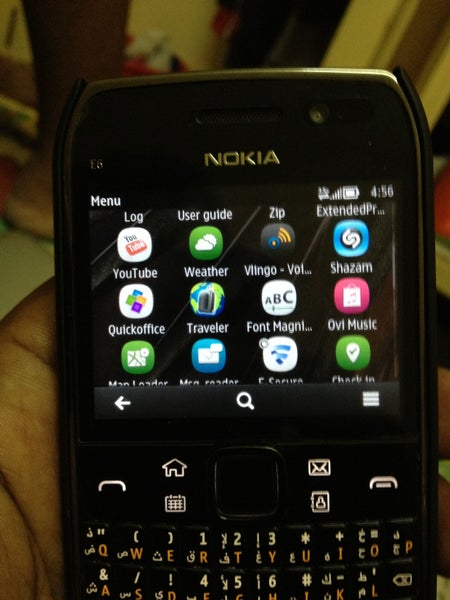 Image of Nokia E6-00 Apps Free Download