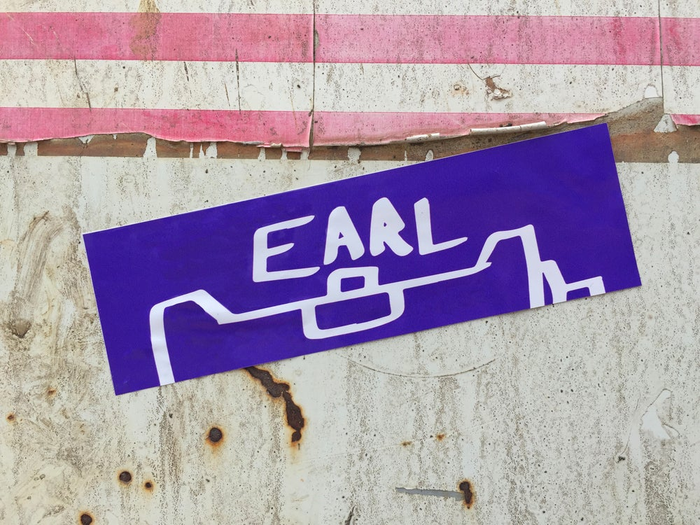 Image of Earl Slap Stickers`