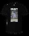 Image of Heavy Hitter #2: Bo Jackson (Black Tee)