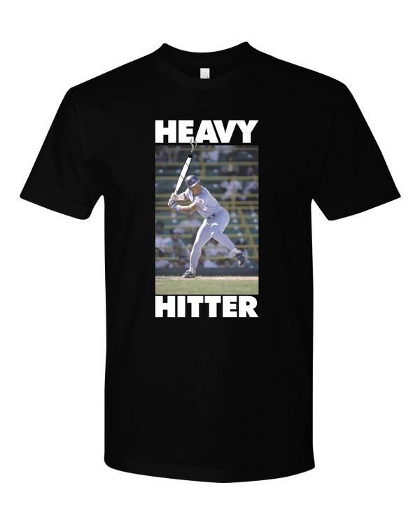 Image of Heavy Hitter #2: Bo Jackson (Black Tee)