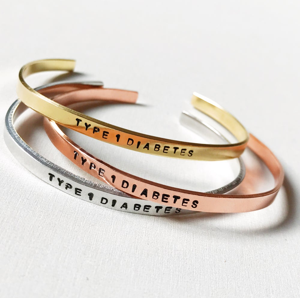 Image of Diabetes Bracelet Copper