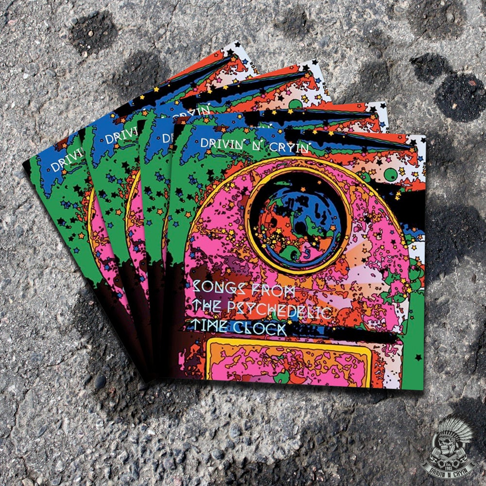 "Image of ""Songs From The Psychedelic Time Clock"" CD"