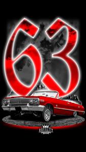 Image of 1963 impala red
