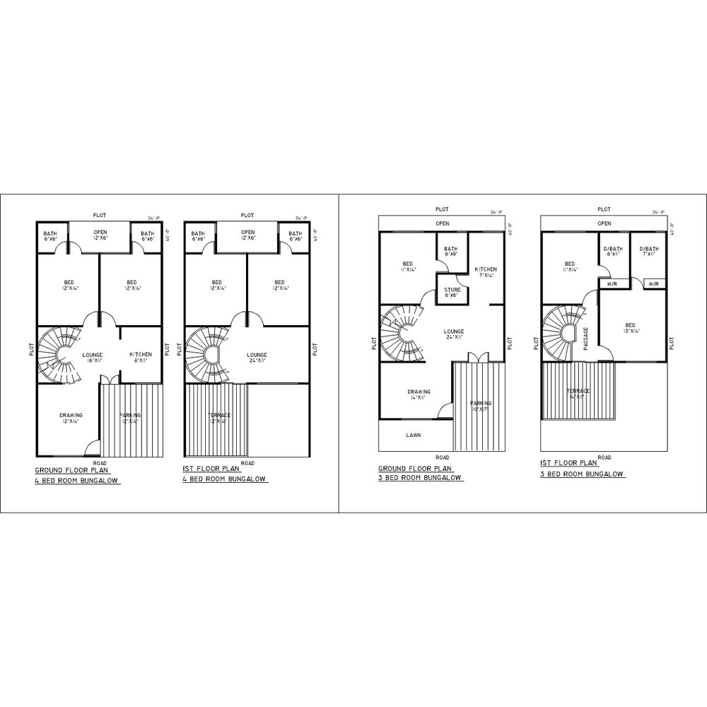 Image of Autocad 2d Building Drawings Free Download