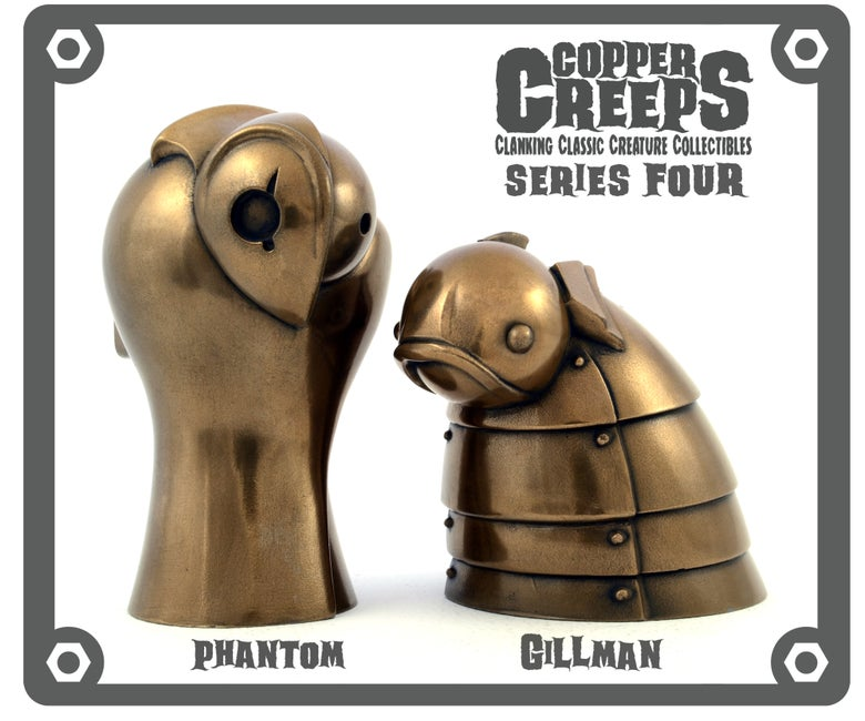"Image of Copper Creeps Series 4 ""Metal"" Open Editions"
