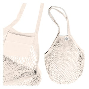 Image of COTTON<br>SHOPPING NETBAG