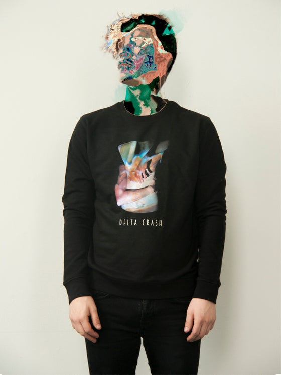 Image of Blue Embrace Crewneck Unisex