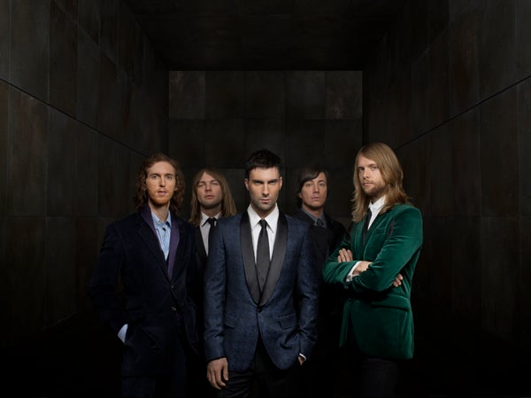 Image of Maroon 5 Hands All Over Mp3 Download