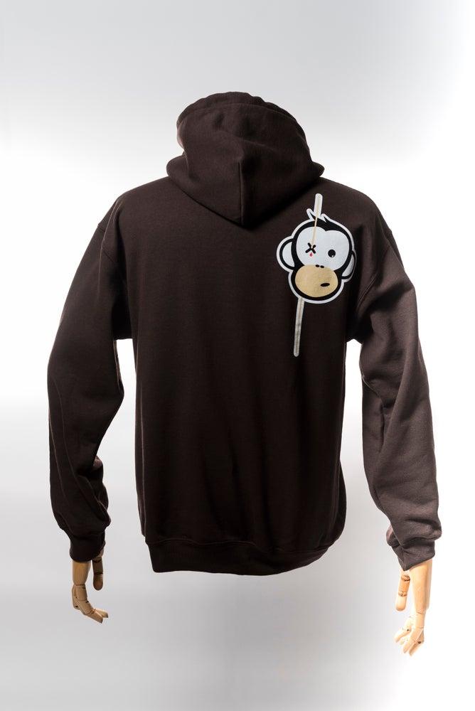Image of Monkey Climber Streetwise hoodie I Brown