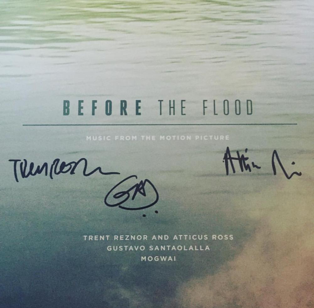 Image of Before The Flood - Trent Reznor, Atticus Ross, Gustavo Santaolalla *SIGNED VINYL PRE SALE*