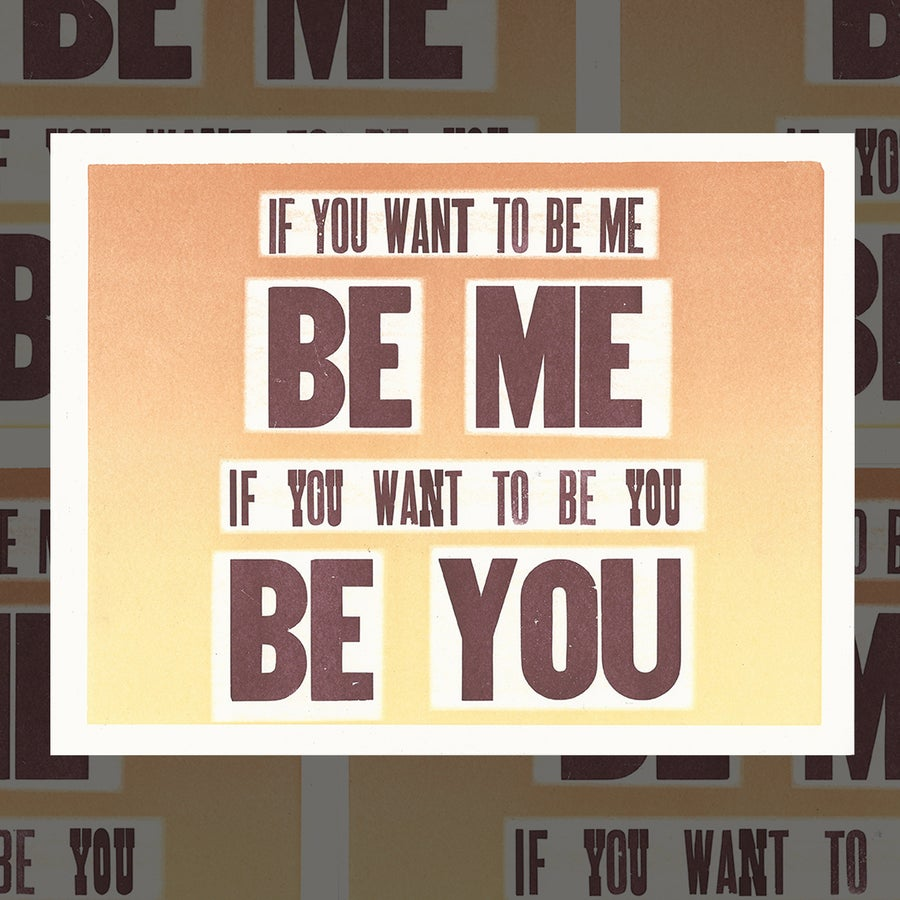 Image of You Be You