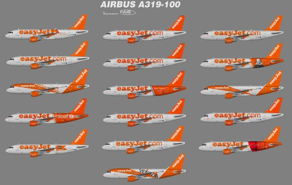 Image of Fsx Spirit Airlines A319 Download