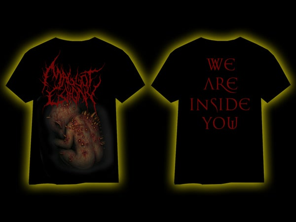 Image of MAGGOT COLONY - We Are Inside You T-Shirt [pre-order]