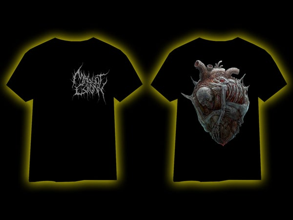 Image of MAGGOT COLONY - Heart T-Shirt [pre-order]