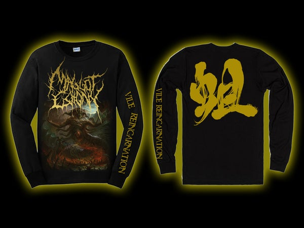 Image of MAGGOT COLONY - Vile Reincarnation Longsleeve [pre-order]