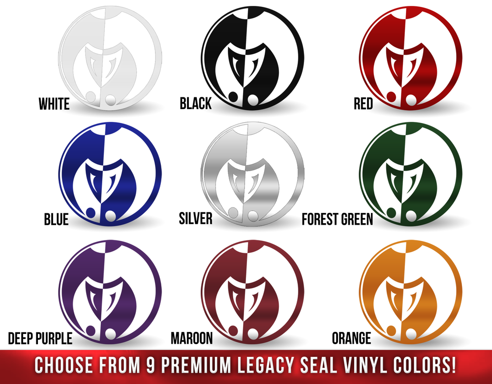 Image of Legacy Seal Vinyl 6""