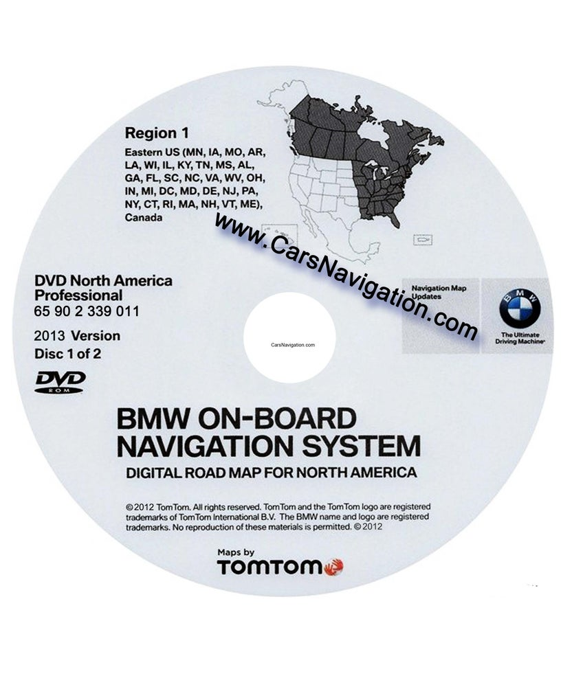 Image of Download North America Map Tomtom