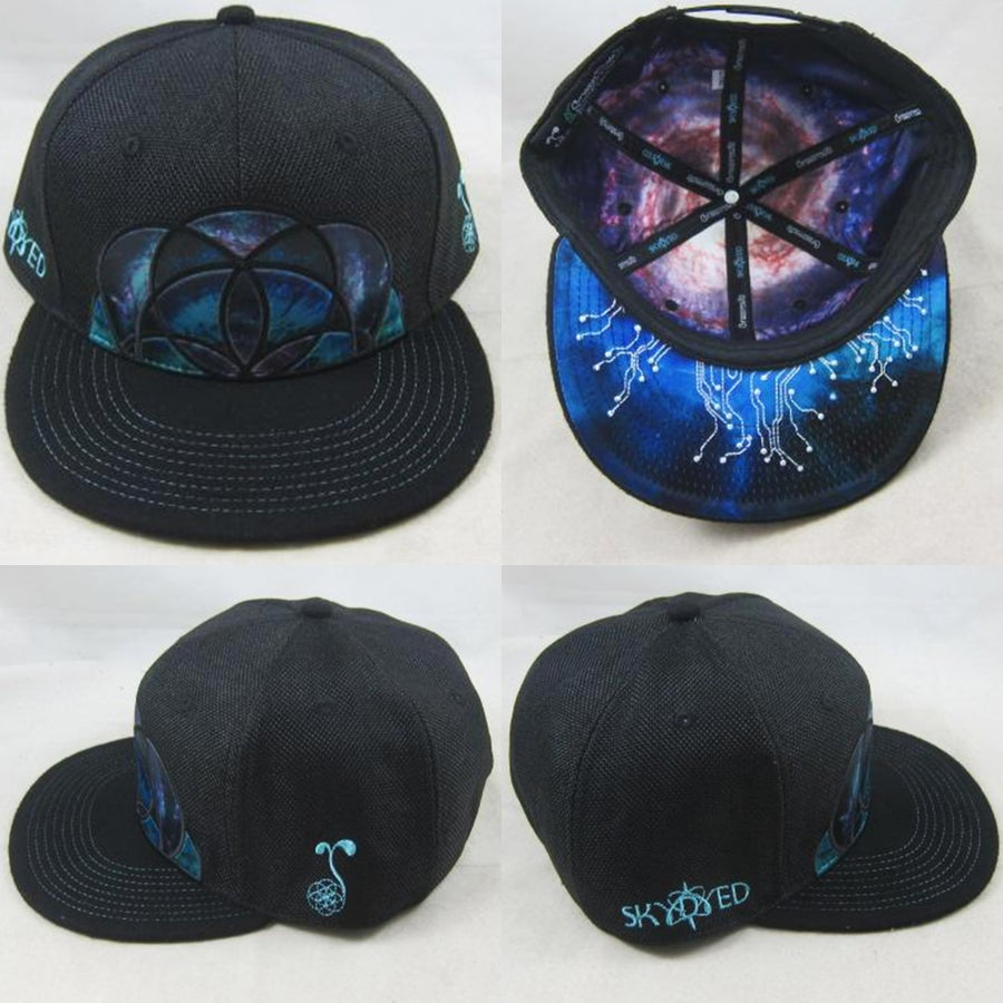 Image of Skydyed x GRC Black Snapback