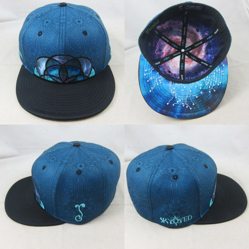 Image of Skydyed x GRC Blue Fitted - PRESALE