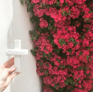 Image of #100427  Reclaimed Wooden Decor Cross - White