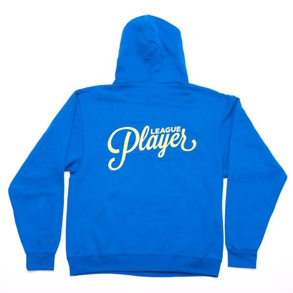 Image of ALLTIMERS LEAGUE PLAYER HOODY BLUE
