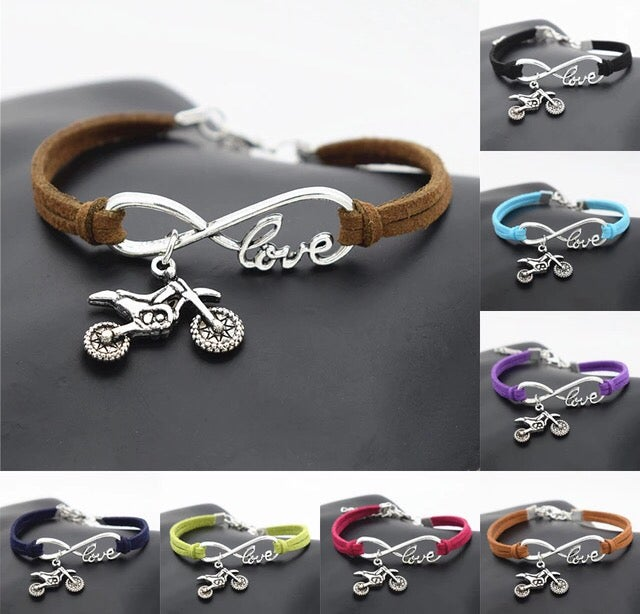 Image of Infinity Dirt Bike Bracelet