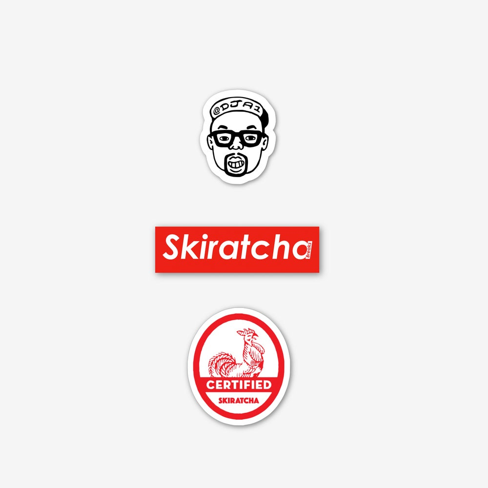 Image of Skiratcha Sticker Pack