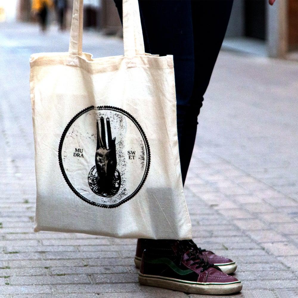 """Image of TOTE BAG """"MUDRA"""" LOGO"""